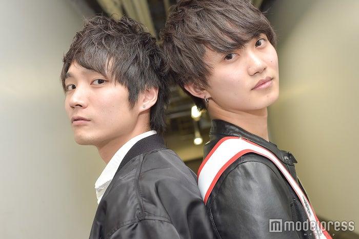 「MR CIRCLE CONTEST(ミスターサークルコンテスト)2017-2018」準グランプリ・小川拓馬さん、芹澤瞬さん (C)モデルプレス