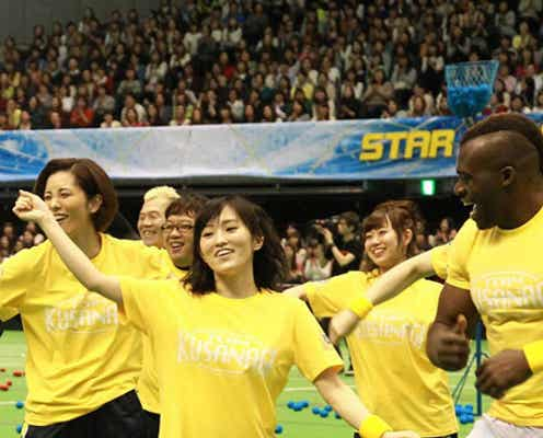 SMAP稲垣吾郎、メンバーも驚きの俊足ぶりを発揮 「スマスマ大運動会」で大活躍