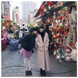 モデルプレス - きゃりー&Perfumeあ〜ちゃんが仲良しプライベート旅行 「最強ペア」とファン歓喜