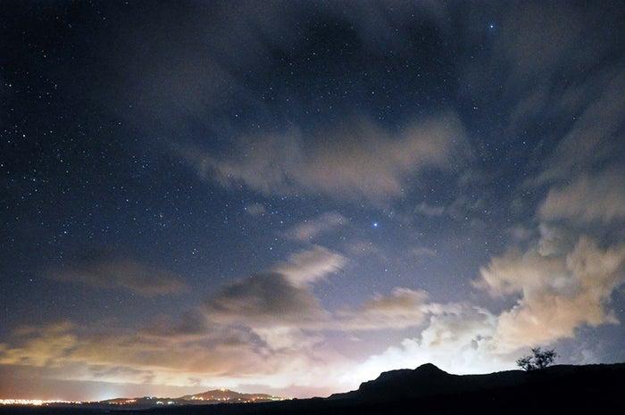 サイパンの夜空にきらめく、おおいぬ座(C)Star Gazing Saipan
