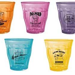 ミニDURALEXグラス 全5種  各800円(C)Disney/Pixar(C)POOF-Slinky,LLC