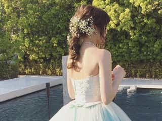 ウェディングドレスに合わせたい髪型特集!一生の思い出を色濃く♡