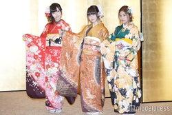 NGT48メンバー/山口真帆、西潟茉莉奈、大滝友梨亜(C)モデルプレス