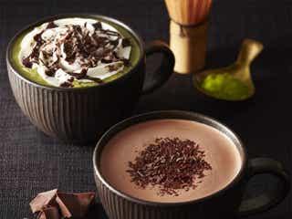タリーズ、濃厚チョコ×抹茶の華やかドリンクが新登場