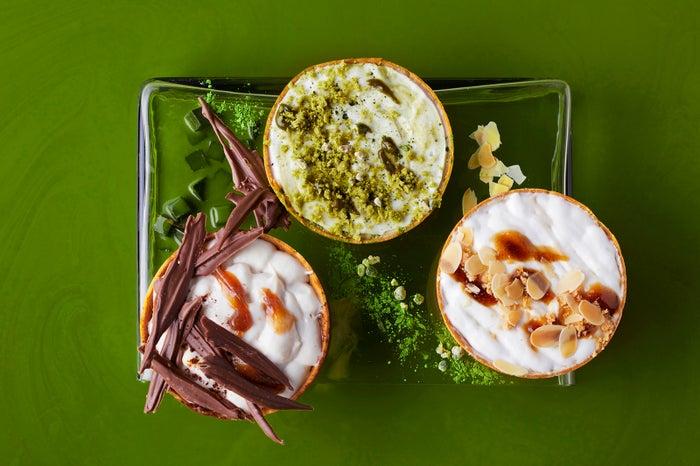 今季の新作スイーツ「ラテタルト」は3種の茶葉が薫る/画像提供:ハイアット リージェンシー 大阪