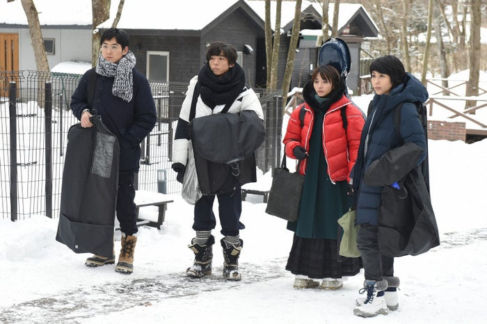 (左から)松田龍平、高橋一生、満島ひかり、松たか子「カルテット」第3話より(C)TBS