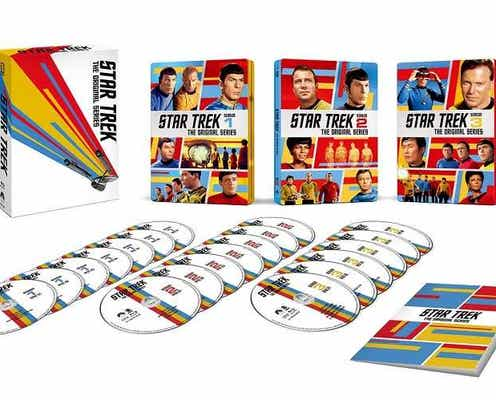 『スター・トレック:ディスカバリー』シーズン3がDVDリリース!シリーズ放送55周年を記念したスチールブックも