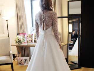 タイムレスに愛されるイギリスブランド「Caroline Castigliano」のウェディングドレス特集