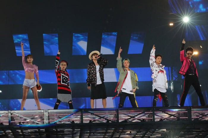 AAA宇野実彩子、末吉秀太、西島隆弘、浦田直也、與真司郎、日高光啓(画像提供:avex)