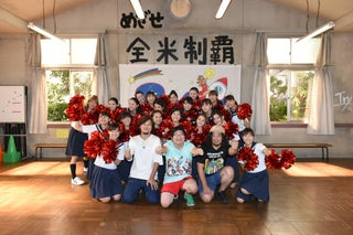 土屋太鳳ら「チア☆ダン」出演者が熱弁に驚き サンボマスターが表敬訪問