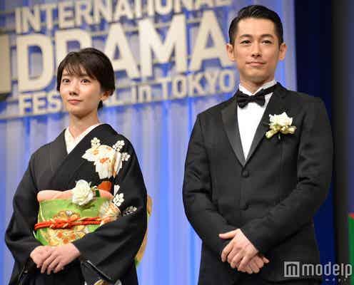 波瑠&ディーン・フジオカ「あさが来た」3冠達成に感激「本当に信じられない」「感無量です」