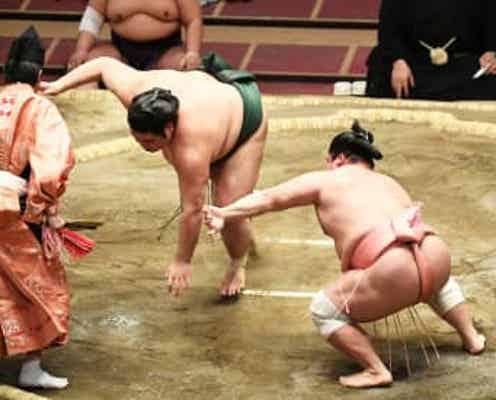 【大相撲】宇良が肩透かしで9勝目 新入幕の翠富士に〝対抗心〟「まねをしようと」