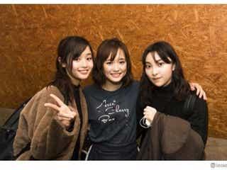 家入レオ、大原櫻子ライブを藤原さくらと鑑賞 久々3ショットにファン歓喜
