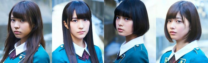 欅坂46から「GirlsAward2016AW」に4人出演(左から)小林由依、土生瑞穂、平手友梨奈、渡邉理佐