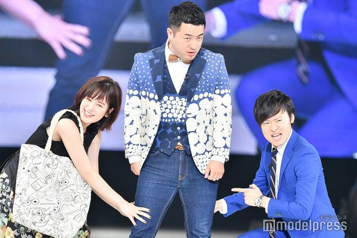 筧美和子、和牛・水田信二、川西賢志郎 (C)モデルプレス