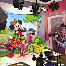 ミニーのスタイルスタジオ※写真はイメージ(C)Disney