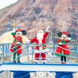 東京ディズニーリゾートのクリスマス、TDSではミッキーたちがハーバーグリーティング グッズ&メニューも