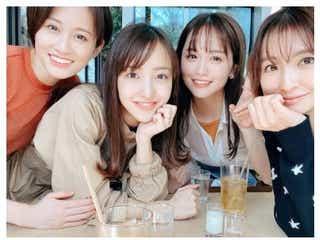 ゆうこす、前田敦子・篠田麻里子・板野友美とランチ「神メンツ」「豪華すぎ」と話題に
