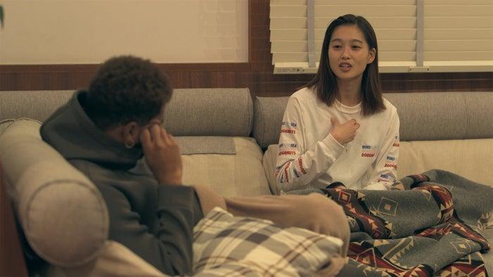 愛大、りさこ「TERRACE HOUSE OPENING NEW DOORS」46th WEEK(C)フジテレビ/イースト・エンタテインメント