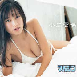 モデルプレス - 小島瑠璃子、美バストくっきり 白ビキニで大人の色気