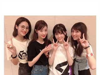 石川恋、E-girls楓ら「CanCam」美女モデルが乃木坂46ライブ参戦 松村沙友理を絶賛