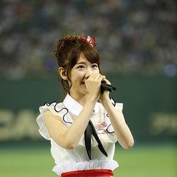 柏木由紀「帰りたい気持ちでいっぱい」<AKB48グループ大運動会 中間順位発表>
