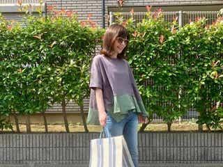 「夏のスキニーパンツ」をすっきり見せるコツ。薄着の季節でも堂々と穿きこなそう♪