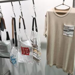 ダイスアンドダイス プラバッグを再利用したバッグとTシャツ発売