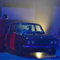 撮影で使った車/吉本坂46RED「君の唇を離さない」MV撮影風景(C)モデルプレス