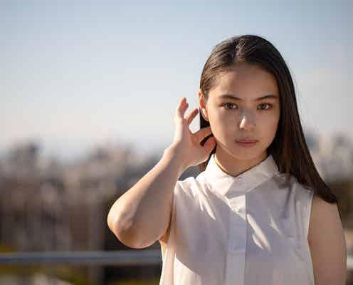 注目のモデル・稲垣姫菜、美髪なびかせる「楽しく撮影する事が出来ました」