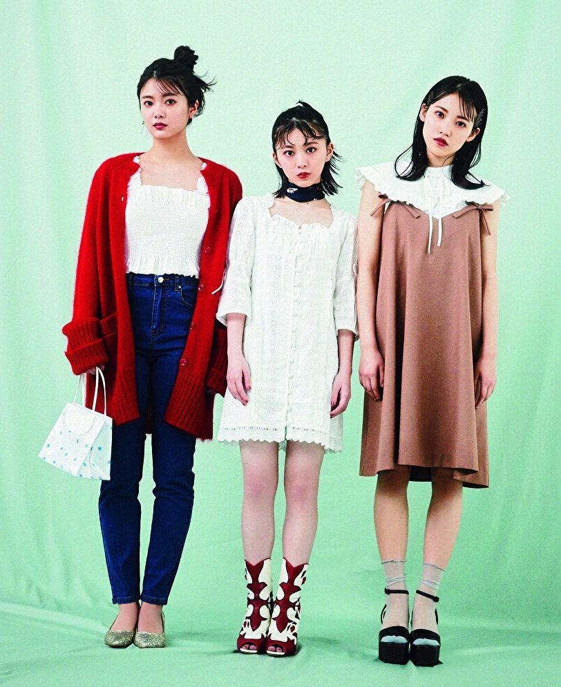 田村保乃・松田里奈・森田ひかるの3人がファッション誌で撮られた写真がこれwwwwwww