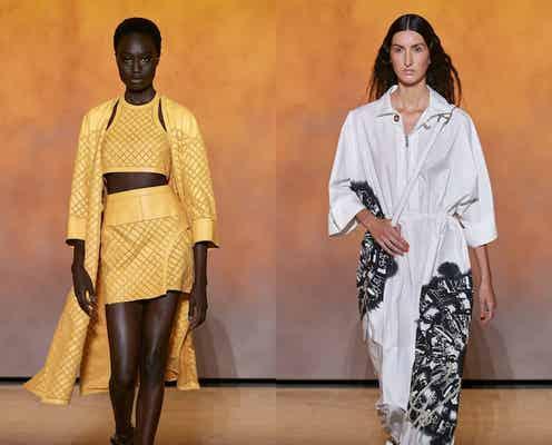 22年春夏パリ・コレクション ファッションの再開を祝う