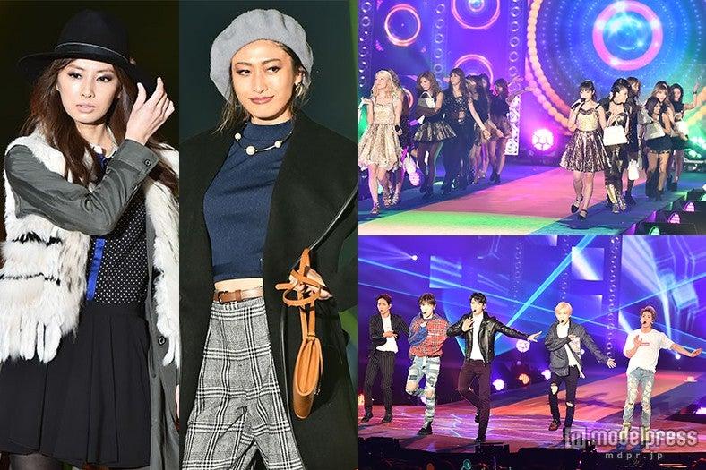 北川景子、山田優らが豪華モデルに3万4千人熱狂 SHINee、E-girlsのステージに歓声止まらず【モデルプレス】