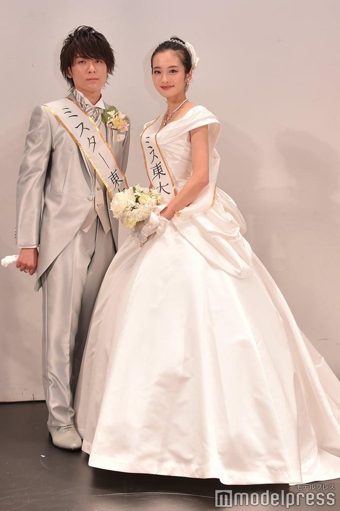 牧野諒さん、神谷明采さん(C)モデルプレス