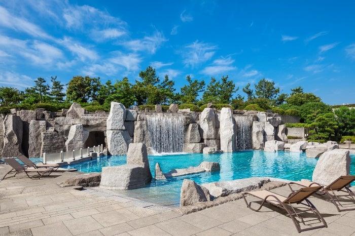 ガーデンプール/画像提供:シェラトン・グランデ・トーキョーベイ・ホテル