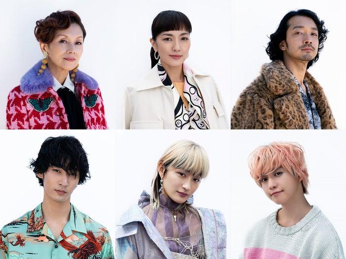 (上段左から)夏木マリ、板谷由夏、金子ノブアキ(下段左から)上杉柊平、コムアイ、ゆうたろう(提供写真)