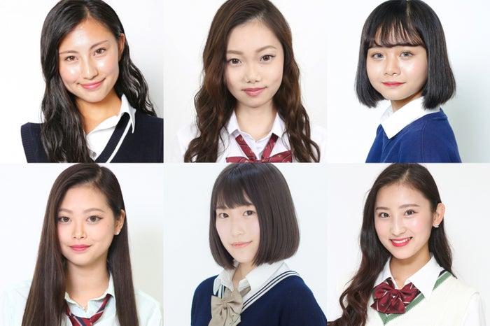 「女子高生ミスコン2017-2018」関西予選の候補者一部