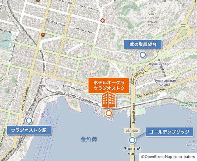 地図/画像提供:オークラ ホテルズ & リゾーツ