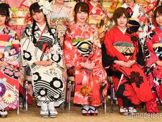 <AKB48グループ成人式会見全文>宮脇咲良×白間美瑠、総選挙1位宣言で対抗心 NMB48石塚朱莉は異色ヘアスタイル