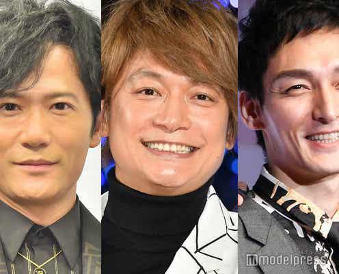 稲垣・草なぎ・香取、地上波で3人集結「世界に一つだけの花」歌いかける