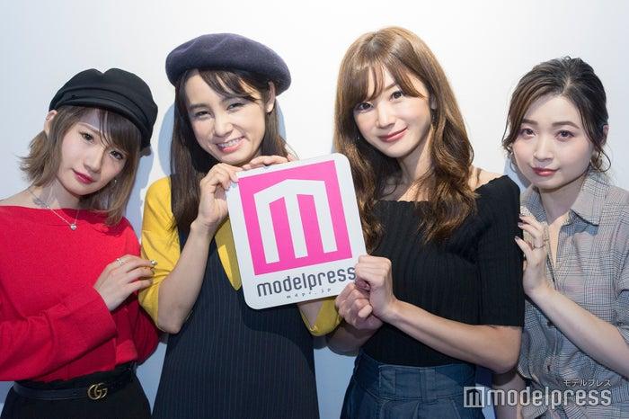 (左から)菊田真衣子さん、野村日香理さん、金城ゆきさん、橋本花織さん(C)モデルプレス