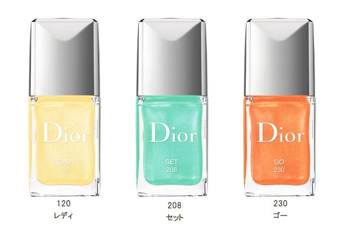 ディオール ヴェルニ/限定3色/画像提供:Dior