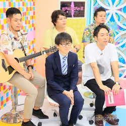 (前列左から)田中一彦、武智(後列左から)馬と魚、のぶひろ、ロジャー (C)モデルプレス