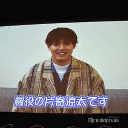 片寄涼太から動画メッセージ(C)モデルプレス
