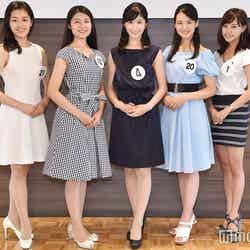 山田麗美さん、霜野莉沙さん、野田夏希さん、岡部七子さん、高橋茉莉さん(C)モデルプレス