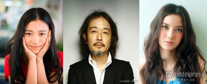 映画「トイレのピエタ」追加キャスト発表(左から)杉咲花、リリー・フランキー、市川紗椰【モデルプレス】