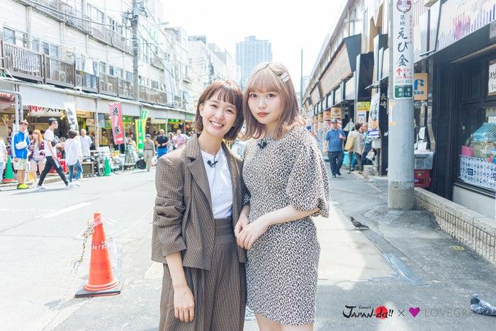 柴田紗希&古関れん(写真提供:MBS)