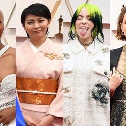 【2020年アカデミー賞】セレブから学ぶ春のドレスアップメイク キーワードはしっかり眉とヌーディリップ<ヘアメイク分析>