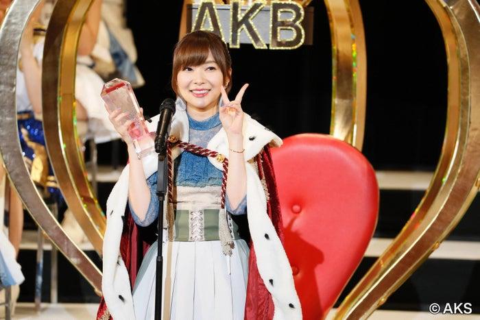 「AKB48世界選抜総選挙」が地上波生放送決定/写真は昨年の様子(C)AKS