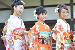(左から)是永瞳、井頭愛海、岡田結実 (C)モデルプレス